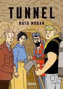 Rutu Modan: Die Tunnel, Buch