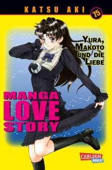 Katsu Aki: Manga Love Story 75, Buch