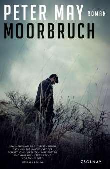Peter May: Moorbruch, Buch