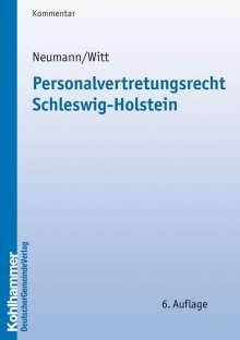 Peter Neumann: Personalvertretungsrecht Schleswig-Holstein, Buch