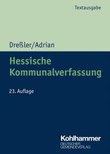 Ulrich Dreßler: Hessische Kommunalverfassung, Buch