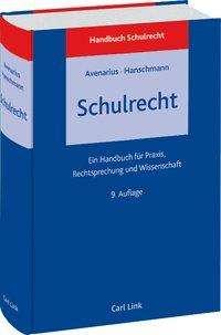 Hermann Avenarius: Schulrecht, Buch