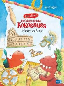 Ingo Siegner: Alles klar! Der kleine Drache Kokosnuss erforscht die Römer, Buch