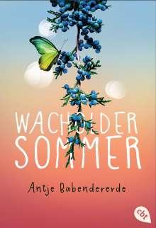 Antje Babendererde: Wacholdersommer, Buch