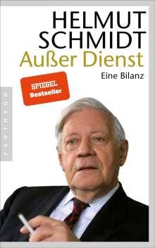 Helmut Schmidt: Außer Dienst, Buch