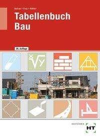 Balder Batran: Tabellenbuch Bau, Buch