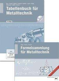 Wilhelm Dax: Paketangebot Tabellenbuch für Metalltechnik und Formelsammlung für Metalltechnik, Buch