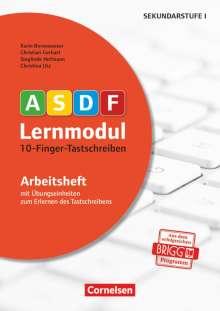 Karin Bornewasser: 10-Finger-Tastschreiben. Arbeitsheft, Buch