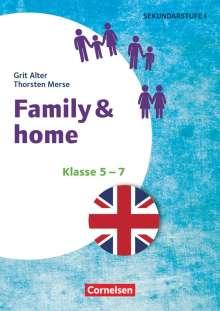Grit Alter: Klasse 5-7 - Family & Home, Buch