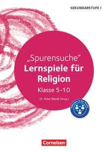 Matthias Isecke-Vogelsang: Lernspiele Sekundarstufe I - Religion - Klasse 5-10, Buch