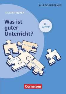 Hilbert Meyer: Was ist guter Unterricht?, Buch