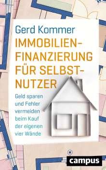 Gerd Kommer: Immobilienfinanzierung für Selbstnutzer, Buch