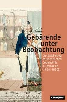 Lucia Aschauer: Gebärende unter Beobachtung, Buch