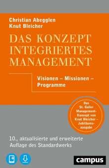 Christian Abegglen: Das Konzept Integriertes Management, 1 Buch und 1 Diverse