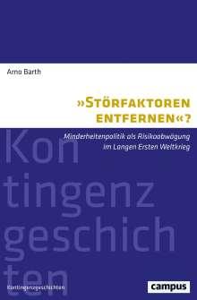 Barth: »Störfaktoren entfernen«?, Buch