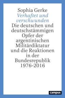 Sophia Gerke: Verhaftet und verschwunden, Buch