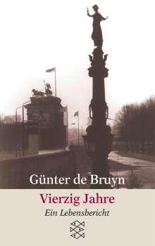 Günter de Bruyn: Vierzig Jahre, Buch