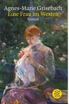 Agnes-Marie Grisebach: Eine Frau im Westen. Großdruck, Buch