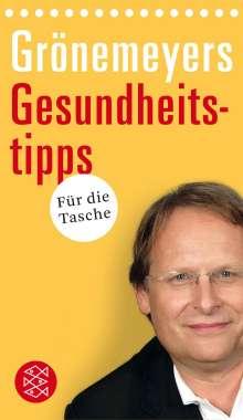 Dietrich Grönemeyer: Grönemeyers Gesundheitstipps für die Tasche, Buch