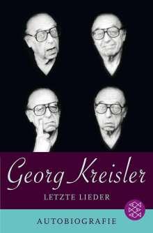 Georg Kreisler: Letzte Lieder. Autobiografie, Buch