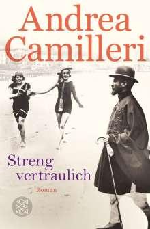 Andrea Camilleri (1925-2019): Streng vertraulich, Buch