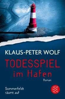 Klaus-Peter Wolf: Todesspiel im Hafen, Buch
