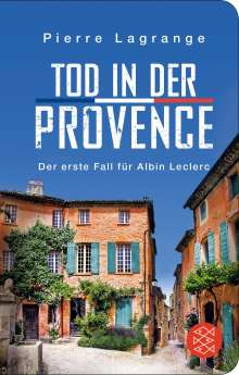 Pierre Lagrange: Tod in der Provence, Buch