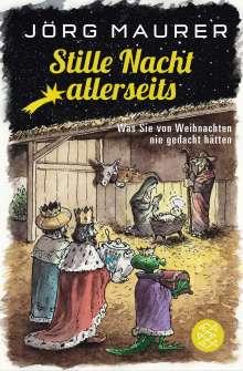 Jörg Maurer: Stille Nacht allerseits, Buch