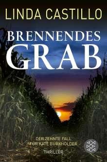 Linda Castillo: Brennendes Grab, Buch