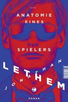 Jonathan Lethem: Anatomie eines Spielers, Buch
