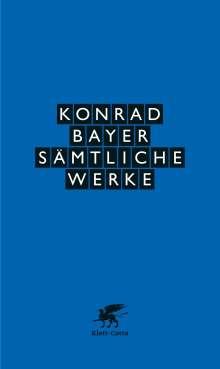 Konrad Bayer: Sämtliche Werke, Buch