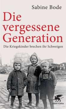 Sabine Bode: Die vergessene Generation, Buch