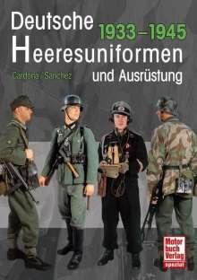 Ricardo Recio Cardona: Deutsche Heeresuniformen und Ausrüstung, Buch