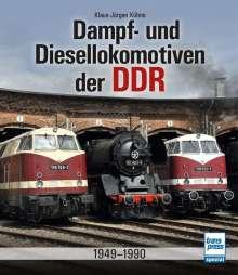 Klaus-Jürgen Kühne: Dampf- und Diesellokomotiven der DDR, Buch