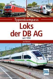 Jan Reiners: Loks der DB AG, Buch