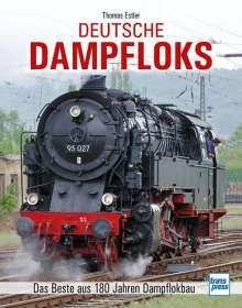 Thomas Estler: Deutsche Dampfloks, Buch