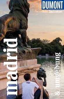 Maria Anna Hälker: DuMont Reise-Taschenbuch Madrid und Umgebung, Buch