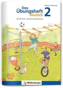 Stefanie Drecktrah: Das Übungsheft Deutsch 2, Buch