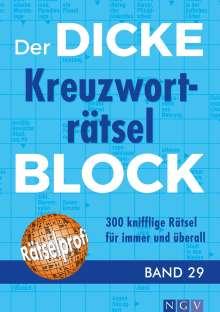 Der dicke Kreuzworträtsel-Block Band 29, Buch