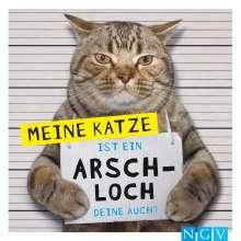 Klaus Bunte: Meine Katze ist ein Arschloch - Deine auch?, Buch