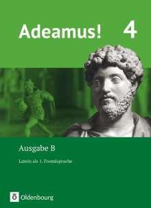 Volker Berchtold: Adeamus! - Ausgabe B Band 4 - Latein als 1. Fremdsprache, Buch