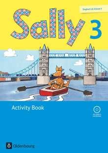 Jasmin Brune: Sally 3. Schuljahr. Activity Book mit Audio-CD. Allgemeine Ausgabe (Neubearbeitung) - Englisch ab Klasse 3, Buch