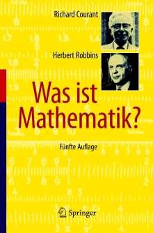 Richard Courant: Was ist Mathematik?, Buch