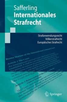 Christoph Safferling: Internationales Strafrecht, Buch