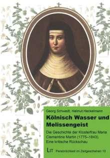 Georg Schwedt: Kölnisch Wasser und Melissengeist, Buch