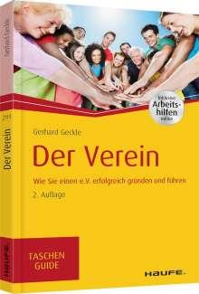 Gerhard Geckle: Der Verein, Buch