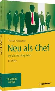 Thomas Augspurger: Neu als Chef, Buch