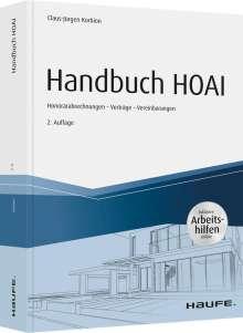 Claus-Jürgen Korbion: Handbuch HOAI - inkl. Arbeitshilfen online, Buch