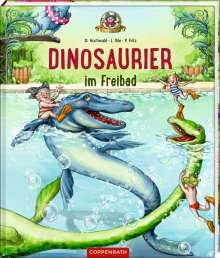Dominik Hochwald: Dinosaurier im Freibad, Buch