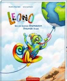 Anahita-Valia Bram: Leono - Wie ein kleines Chamäleon Freunde findet, Buch